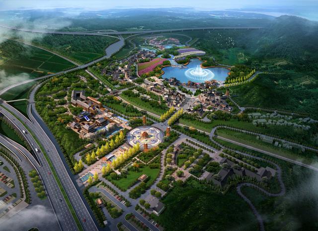 天河潭奧特萊斯 中國首家建立在景區之上的文旅商業綜合體